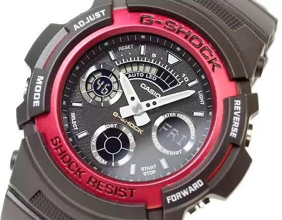 9f5efdba437a Обзор японских часов Casio G-Shock AW-591.