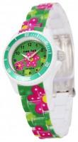 Тик-Так H109-3 зеленые цветы