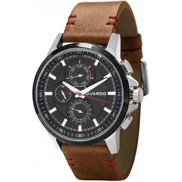 Мужские часы Guardo Premium 11457-3