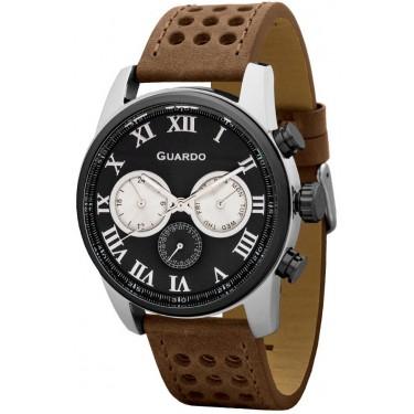 Мужские часы Guardo Premium 11679-2
