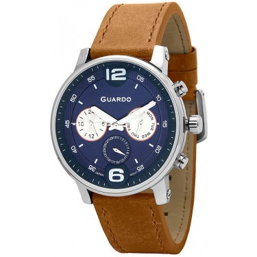 Мужские часы Guardo Premium 12432(1)-2