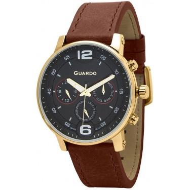 Мужские часы Guardo Premium 12432(1)-4
