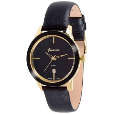 Унисекс часы Guardo S08872A.6.5 чёрный