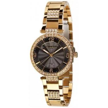 Женские часы Guardo 10330-2 чёрный
