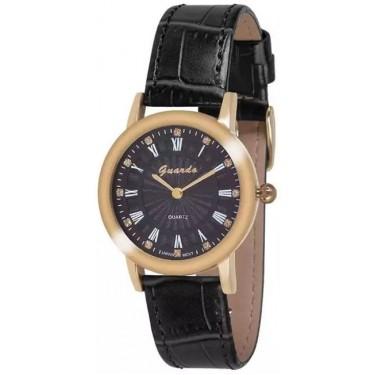 Женские часы Guardo 10593.6 чёрный