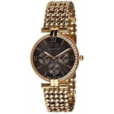 Женские часы Guardo 11378-2 чёрный