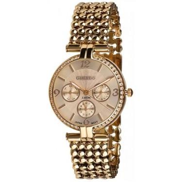 Женские часы Guardo 11378-3 золотой