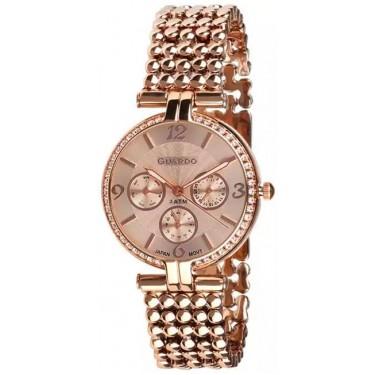 Женские часы Guardo 11378-4 розовый