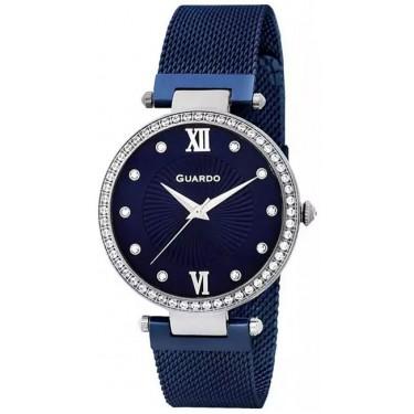 Женские часы Guardo 11390-1 синий