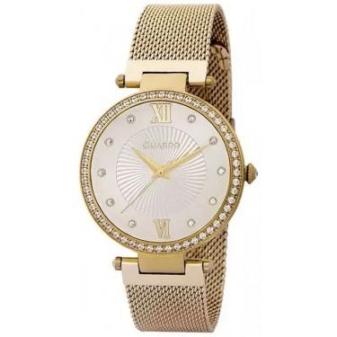 Женские часы Guardo 11390-3 жёлтый