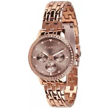 Женские часы Guardo 11461-6 розовый