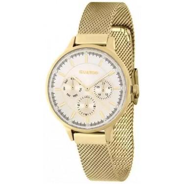 Женские часы Guardo 11636-4 жёлтый