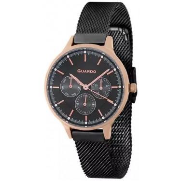 Женские часы Guardo 11636-5 чёрный