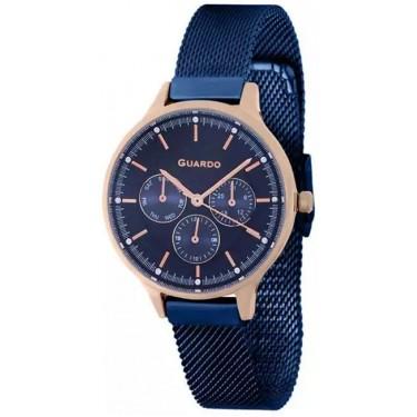 Женские часы Guardo 11636-6 синий