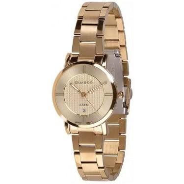 Женские часы Guardo 11688-4 золотой