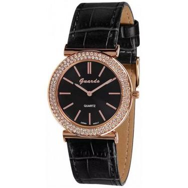 Женские часы Guardo 9240.8 чёрный