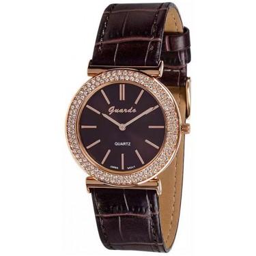 Женские часы Guardo 9240.8 коричневый