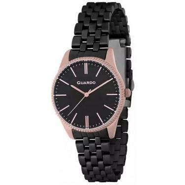 Женские часы Guardo B01095-8 чёрный