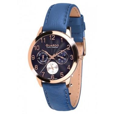 Женские часы Guardo S01871.8 тёмно-синий