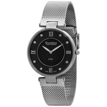 Женские часы Guardo S1862-1.1 чёрный