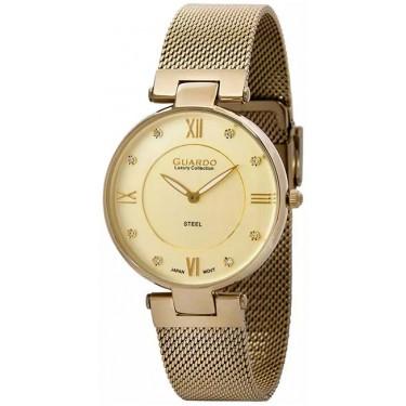 Женские часы Guardo S1862-3.6 жёлтый