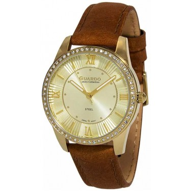 Женские часы Guardo S1949-3.6 жёлтый