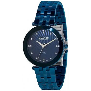Женские часы Guardo S2066-7.3 тёмно-синий