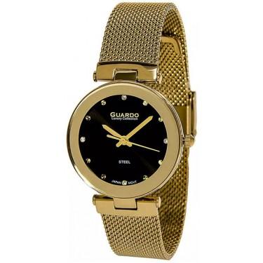 Женские часы Guardo S2076-4.6 чёрный