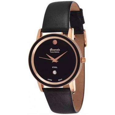 Женские часы Guardo S5690-3.8 чёрный
