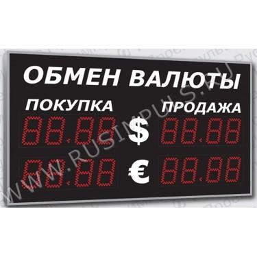 Уличные табло курсов валют Имп 321-1х2-S21 (ER2)