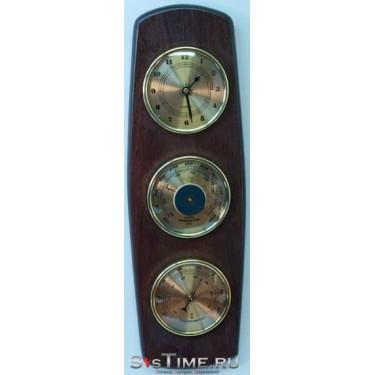 Метеостанция Mikhail Moskvin М-16.66 метеостанция/барометр,термометр,часы/