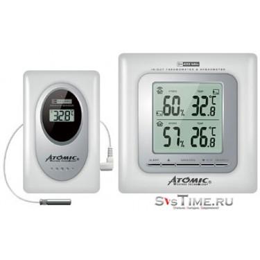 Цифровая метеостанция Atomic W239009-White+W339010(White)