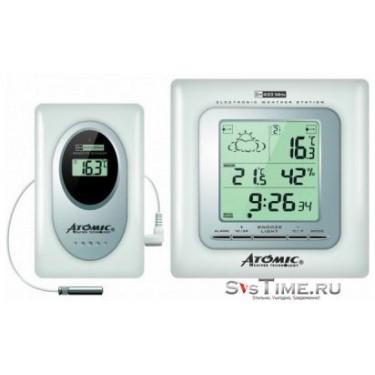 Цифровая метеостанция Atomic W739009-White+W339010(White)