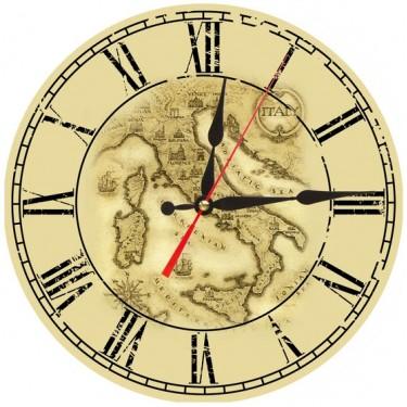 Настенные интерьерные часы Akita AC10
