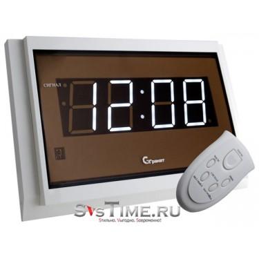 Настенные интерьерные часы Гранат С-2502-Р(бел)