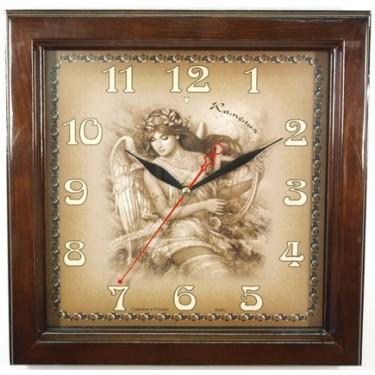 Настенные интерьерные часы Камелия 10092 Муза/квадрат