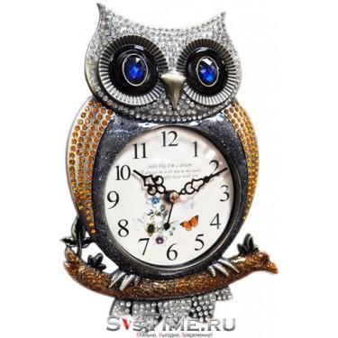 Настольные интерьерные часы Kairos ТВ-027 G сова