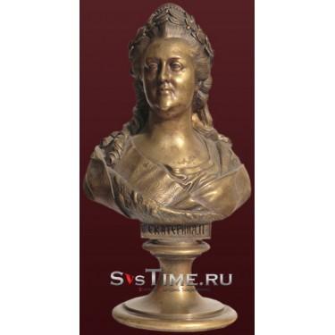 Бюст Екатерина - II из бронзы Vel 03-08-02-06500