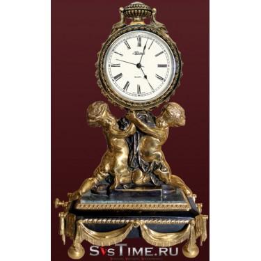 Часы Близнецы из бронзы Vel 03-12-02-01801