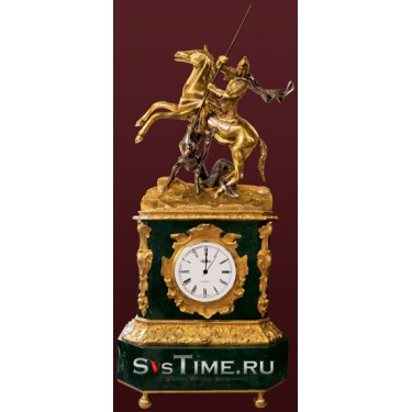 Часы Георгий Победоносец из бронзы Vel 03-12-01-02300