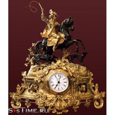 Часы Охота из бронзы Vel 03-12-01-01100
