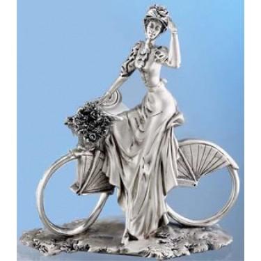 Дама на велосипеде Moda Argenti ST 813 B/SP