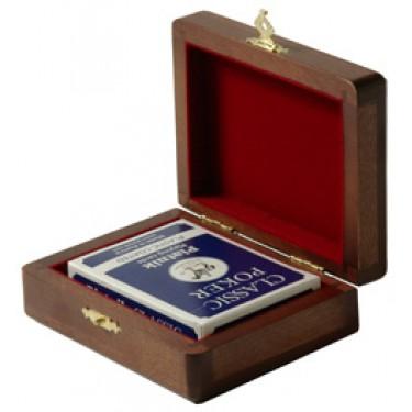 Колода карт в деревянной шкатулке Rovertime RT-01