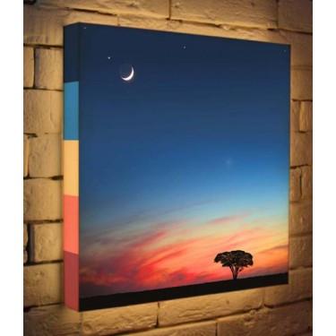Лайтбокс для детской или спальни Сказочный закат BoxPop 45x45-102