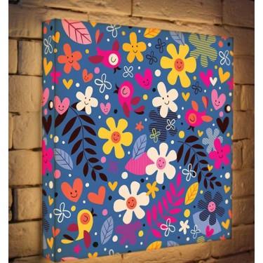 Лайтбокс для детской Цветочки и птички BoxPop 45x45-011