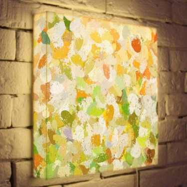 Лайтбокс для гостиной или спальни Абстракция BoxPop 35x35-073