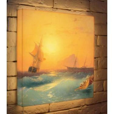 Лайтбокс для гостиной или спальни Гибралтар BoxPop 45x45-131