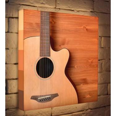 Лайтбокс для гостиной или спальни Гитара BoxPop 45x45-048