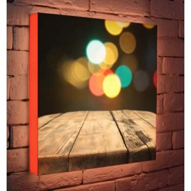 Лайтбокс для гостиной или спальни Кантри BoxPop 45x45-047