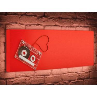 Лайтбокс для гостиной или спальни Кассета BoxPop 35x105-p030